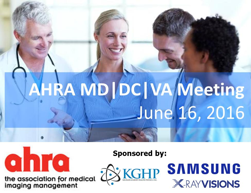 AHRA VA Meeting 16JUN2016