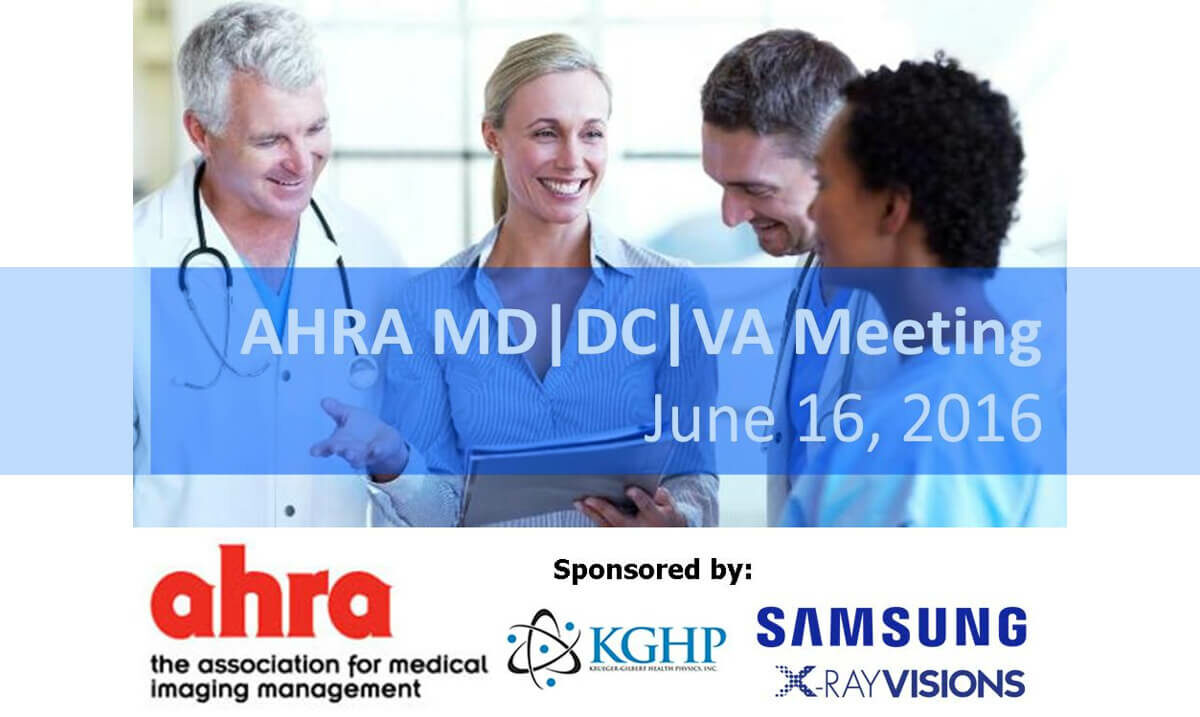 AHRA MD, DC, VA Area Meeting - June 16th - CE Credits & Lunch Provided