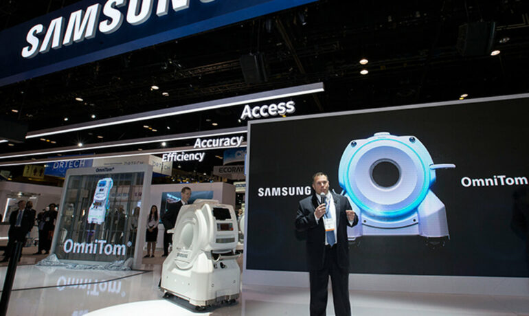 Samsung Unveils New Innovative Mobile CT OmniTom® at RSNA 2017